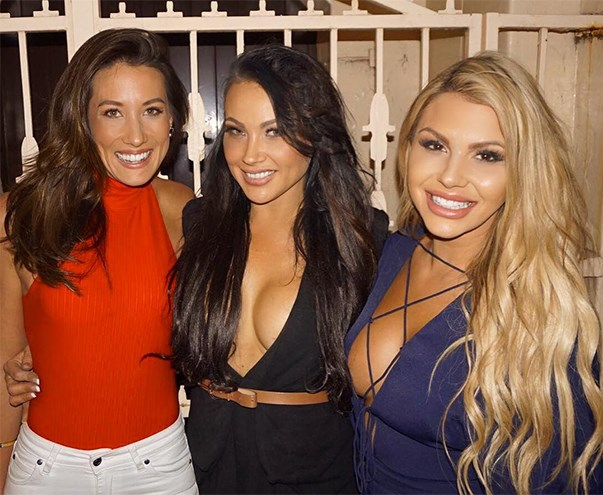 "<p>It turns out Bec Chin from <em>The Bachelor</em> 2015 and Kiki Morris from 2016 are great friends in real life—Kiki captioned this, ""My bestest gals for life."" <p><a href=""https://www.instagram.com/p/BKLN_uLg8d1/"">Instagram.com/kikimorris</a>"