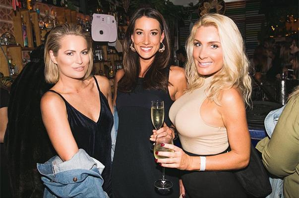 "<p>Keira Maguire from 2016 linked up with Bec Chin and Zilda Williams from Sam Wood's season in 2015 at an event in Bondi. <p><a href=""https://www.instagram.com/p/BKXnoNJj8-l/"">Instagram.com/becchin</a>"
