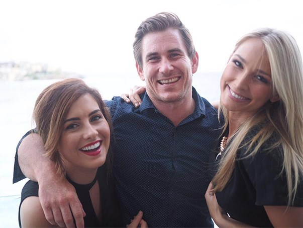 "<p>Dave Billsborrow from <em>The Bachelorette</em> 2015 briefly dated Sarah Amey from <em>The Bachelor</em> 2013, so he met her friend Anna Heinrich, who won Tim Robards' heart. <p><a href=""https://www.instagram.com/p/BA4G35uAPhm/"">Instagram.com/dave_billsborrow</a>"