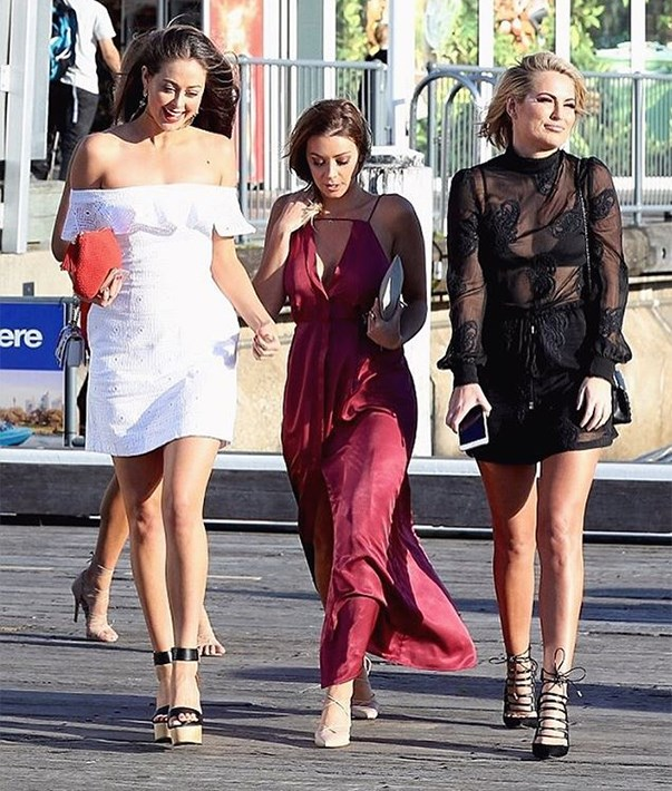 "<p>Fashion industry events usually bring together a bunch of former <em>Bachelor</em> babes. A Kookai cruise earlier this year had Lana Jeavons-Fellows (runner-up in 2015), Lisa Hyde (runner-up in 2014) and Keira Maguire (2016) as guests. Anna Heinrich from the first season was also there. <p><a href=""https://www.instagram.com/p/BLKAVpSDjts/"">Instagram.com/keiramaguire</a>"