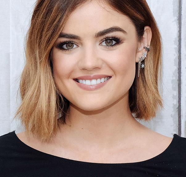 Lucy Hale Hair Bob