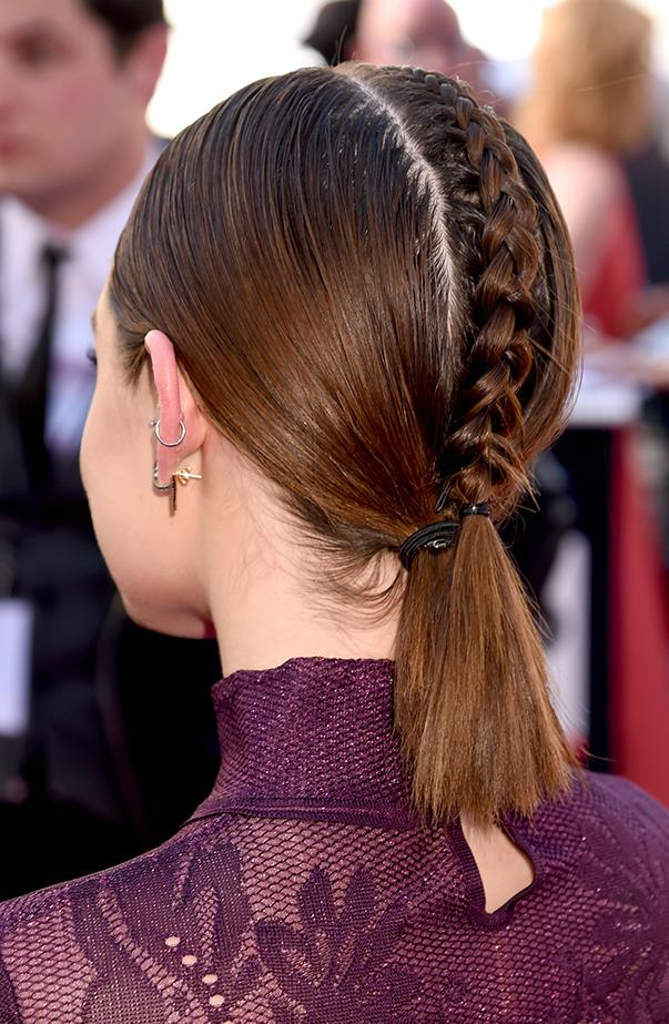 <p>...because there's this cool braid at the back!