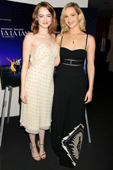 Emma Stone And Jennifer Lawrence Had Your Dream Girls' Night Out Last Night