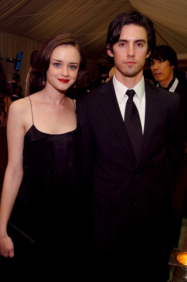 <p> Alexis Bledel and Milo Ventimiglia <p> Attention all Team Jess fans: do you remember when Milo and Alexis dated? The two, who met while filming <em>Gilmore Girls</em> as Rory and Jess, dated for three and a half years before breaking up. Although the period of their relationship occurred after Milo left the show, his character made a return a little after they ended.