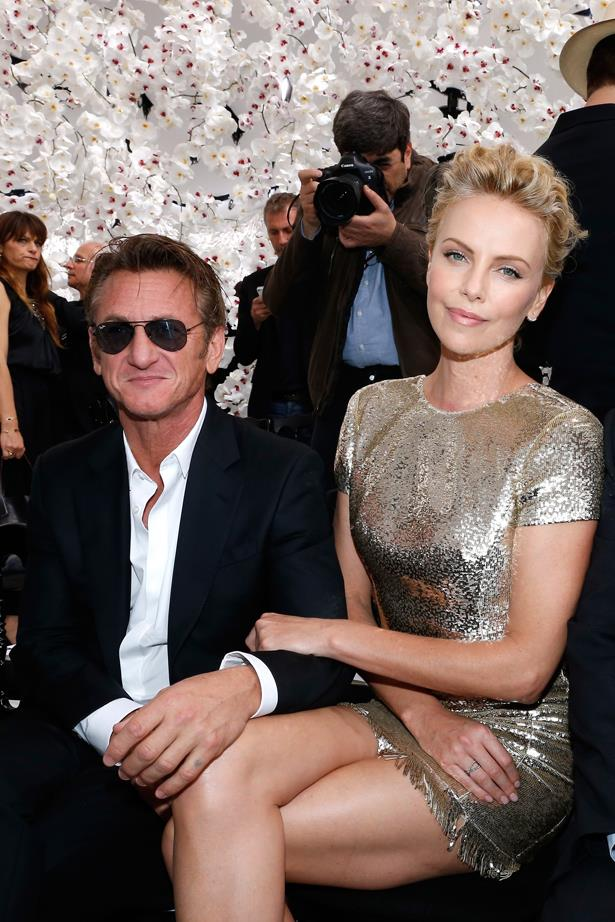 <p> Charlize Theron and Sean Penn <p> Sean and Charlize dated for approximately 18 months while he directed her in the movie <em>The Last Face</em>, but the two broke off their engagement before the movie released, meaning that they completed the entire press circuit after their break-up.