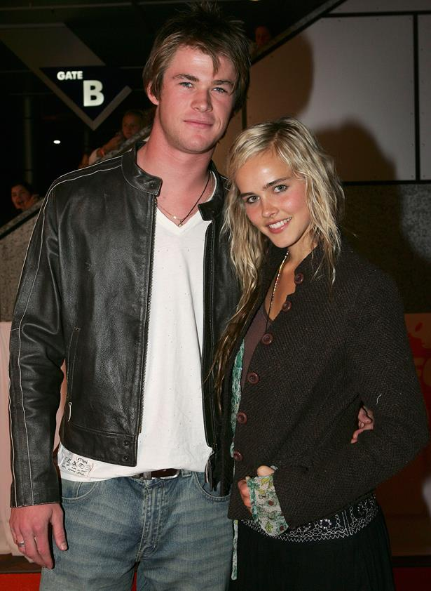 <p> Chris Hemsworth and Isabel Lucas <p> After starring together on <em>Home and Away</em>, Chris Hemsworth and Isabel Lucas dated for a while, before eventually ending their relationship. They collaborated again on the film <em>Red Dawn</em> in 2012.