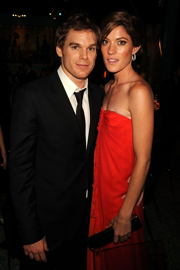 <p> Jennifer Carpenter and Michael C. Hall <p> After meeting on the set of <em>Dexter</em>, dating and quickly marrying, Michael and Jennifer ended their three year relationship in 2010. Luckily enough, the two didn't have as many problems whilst continuing to film <em>Dexter </em>as they played siblings on the show.