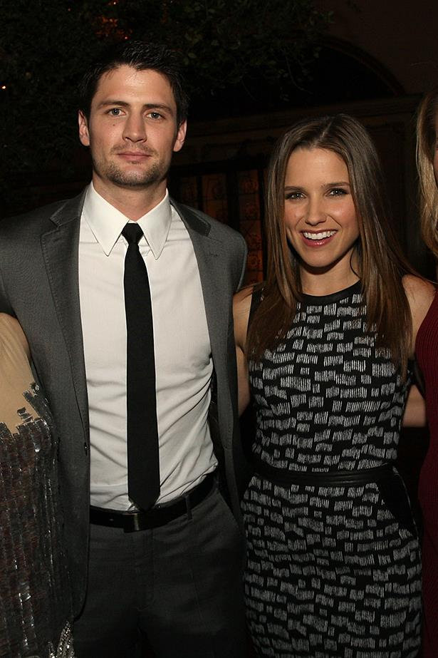<p> Sophia Bush and James Lafferty <p> Sophia also dated another of her <em>One Tree Hill</em> co-stars, James Lafferty, whilst filming, but the relationship ended after one year.