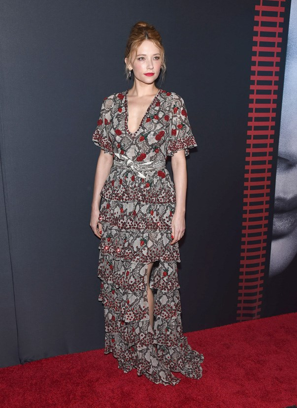 <p>Take a look at <em>The Girl on the Train</em> star Haley Bennett's best style moments.