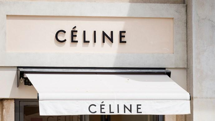 celine store boutique