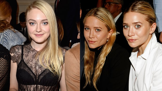 "<p>Dakota Fanning and the Olsen Twins. <p> ""He always would say to me, 'Hey Olsen! Hey Olsen!' I would just keep going, then I'm the crazy person that's like, 'I'm not an Olsen!' I didn't want to engage,"" she told James Corden."