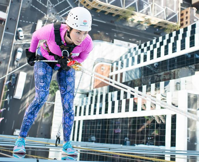 investa abseil for youth