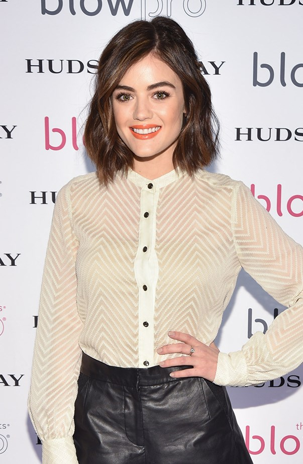<p><strong>Lucy Hale</strong> <p>Despite her young, cherubic features, Lucy is 27.