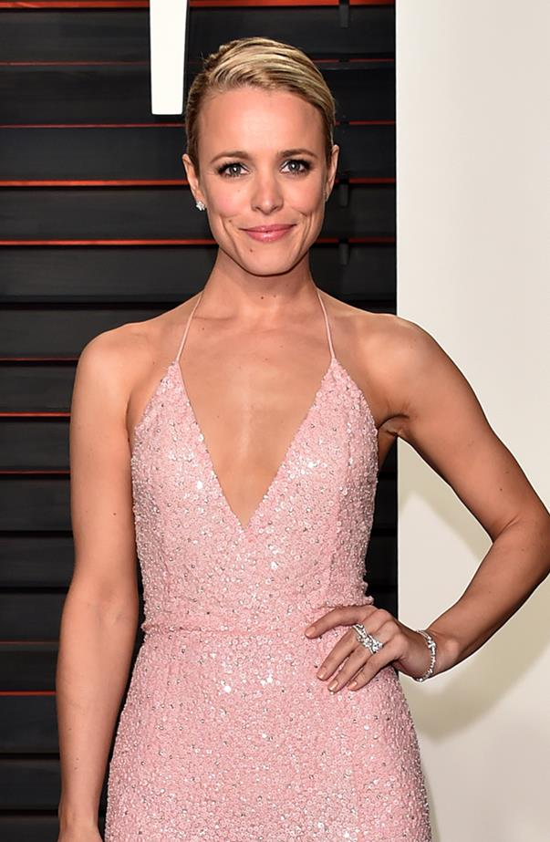 <p><strong>Rachel McAdams</strong> <p>Rachel was 25 when she played high schooler Regina George in <em>Mean Girls</em>. She's now 37, believe it or not.