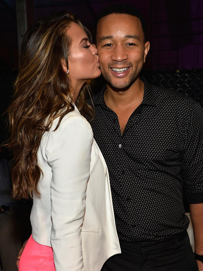 "<p>From John's perspective, it wasn't love at first sight. He told <a href=""https://la-confidential-magazine.com/john-legend-talks-all-of-me-the-grammys-and-chrissy-teigen"" target=""_blank""><em>Los Angeles Confidential</em></a>, ""I'm more cautious than that. I wasn't like, 'This is the woman I'm going to marry' from day one. For me I'm the kind of person who need to grow into that feeling. It was probably a couple of years in when I could already see us being together forever."""