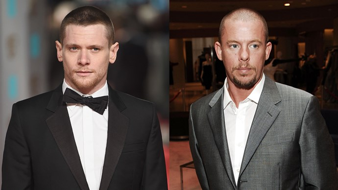 Jack O'Connell and Alexander McQueen.