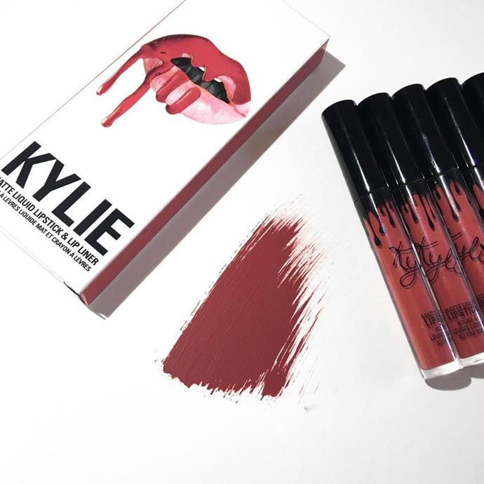 <p><strong>Who:</strong> Kylie Jenner <p><strong>Brand:</strong> Kylie Cosmetics <p><strong>What:</strong> It started with the Kylie Lip Kits, a set that comes with a velvet matte liquid lipstick and liner. The range now also includes lip glosses, eye liners and eyeshadow palettes, and pretty much everything sells out as soon as it goes on sale.