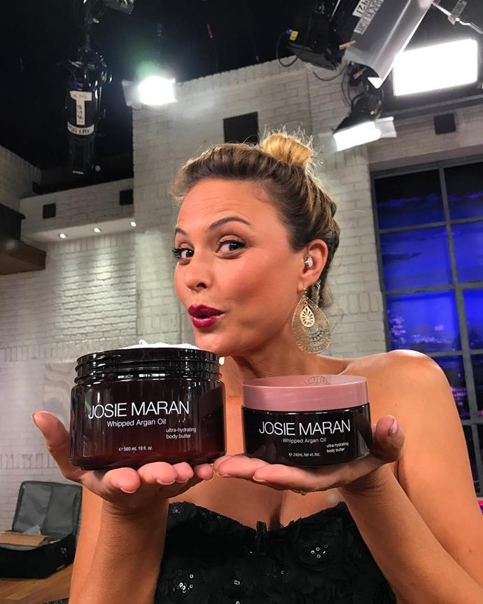 <p><strong>Who:</strong> Josie Maran <p><strong>Brand:</strong> Josie Maran Cosmetics <p><strong>What:</strong> Remember when Josie was the face of Maybelline? She now runs her own company of Argan-infused skincare and makeup products. The 100% Pure Argan Oil is a bestseller.