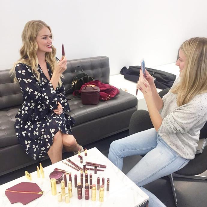 """<p><strong>Who:</strong> Lindsay Ellingson <p><strong>Brand:</strong> Wander Beauty <p><strong>What:</strong> The former Victoria's Secret Angel developed a brand that describes itself as the """"first travel-inspired, luxury colour cosmetics experience."""" The range includes multitasking products that are perfect for travelling—think double-ended cream shadow and liner combos, and a double-ended blush and illuminator. It's all about the packaging—you won't have to deal with a crushed palette."""