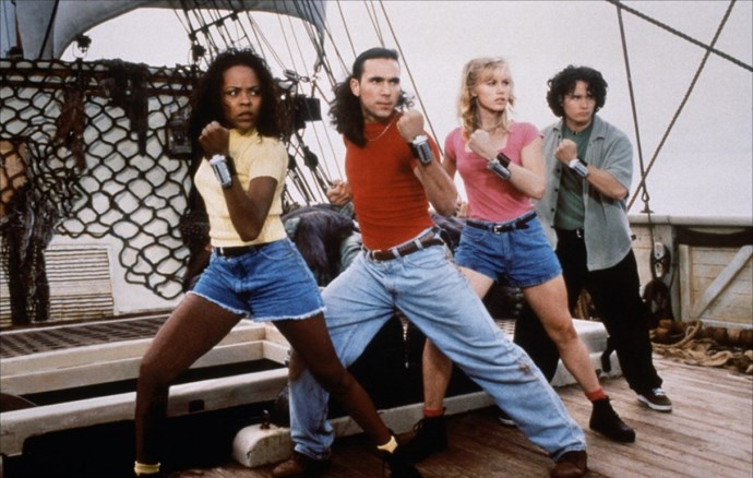 Mighty Morphin Power Rangers (1993–1996).