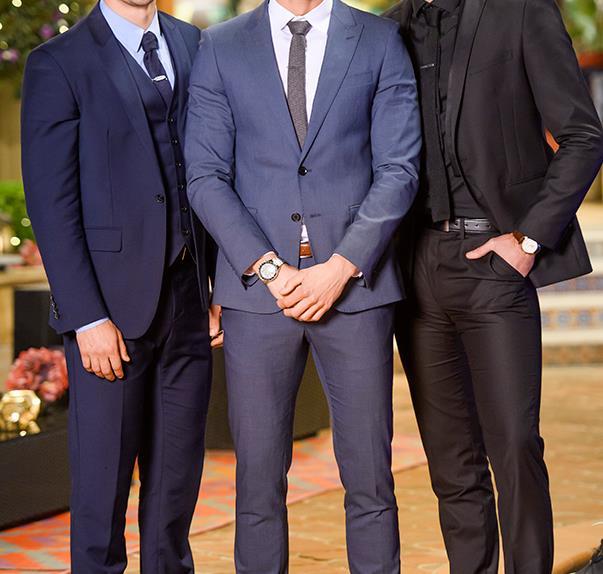 Matty Johnson, Lee Elliott and Jake Ellis From The Bachelorette Australia 2016