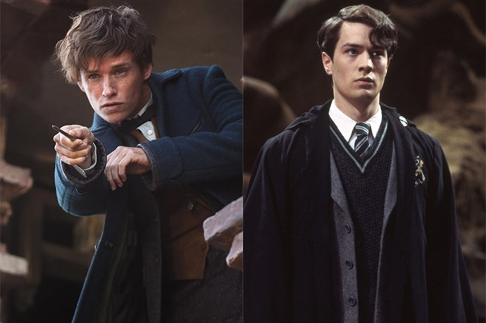 "<p><strong>Eddie Redmayne auditioned for Tom Riddle</strong> <p>Eddie told <em>Empire</em> that he <a href=""http://metro.co.uk/2016/10/25/fantastic-beasts-and-where-to-find-them-star-eddie-redmayne-once-auditioned-to-play-voldemort-6214492/"" target=""_blank"">auditioned to play young Tom Riddle</a> in the original <em>Harry Potter</em> movies, a role which went to Christian Coulson. Eddie then landed the role of Newt Scamander in the spin-off <em>Fantastic Beasts and Where to Find Them</em>."