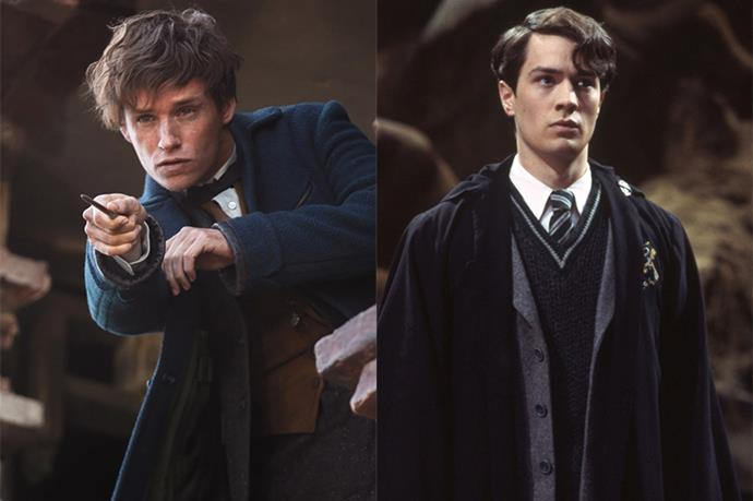 """<p><strong>Eddie Redmayne auditioned for Tom Riddle</strong> <p>Eddie told <em>Empire</em> that he <a href=""""http://metro.co.uk/2016/10/25/fantastic-beasts-and-where-to-find-them-star-eddie-redmayne-once-auditioned-to-play-voldemort-6214492/"""" target=""""_blank"""">auditioned to play young Tom Riddle</a> in the original <em>Harry Potter</em> movies, a role which went to Christian Coulson. Eddie then landed the role of Newt Scamander in the spin-off <em>Fantastic Beasts and Where to Find Them</em>."""