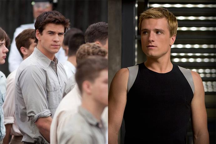 """<p><strong>Liam Hemsworth was interested in playing Peeta Mellark</strong> <p>Liam was cast as Katniss' childhood best friend Gale Hawthorne in the <em>Hunger Games</em> movies, but back in 2011 <a href=""""http://www.mtv.com/news/1656469/liam-hemsworth-interested-in-playing-peeta-in-hunger-games/"""" target=""""_blank"""">he told MTV</a> he was interested in the role of Peeta Mellark, which ended up going to Josh Hutcherson."""