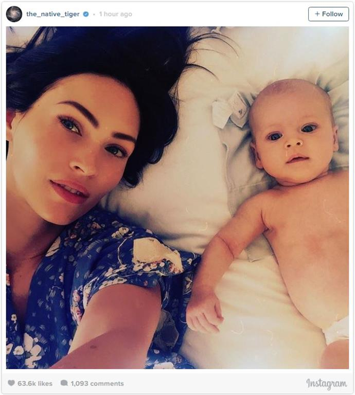 """<p><strong>Journey River Green</strong> <br><br>Date of birth: August, 2016 <br><br>Famous parents: Megan Fox and Brian Austin Green <br><br><a href=""""https://www.instagram.com/p/BMCtKppB0Zf/?taken-by=the_native_tiger"""">Instagram.com/the_native_tiger</a>"""