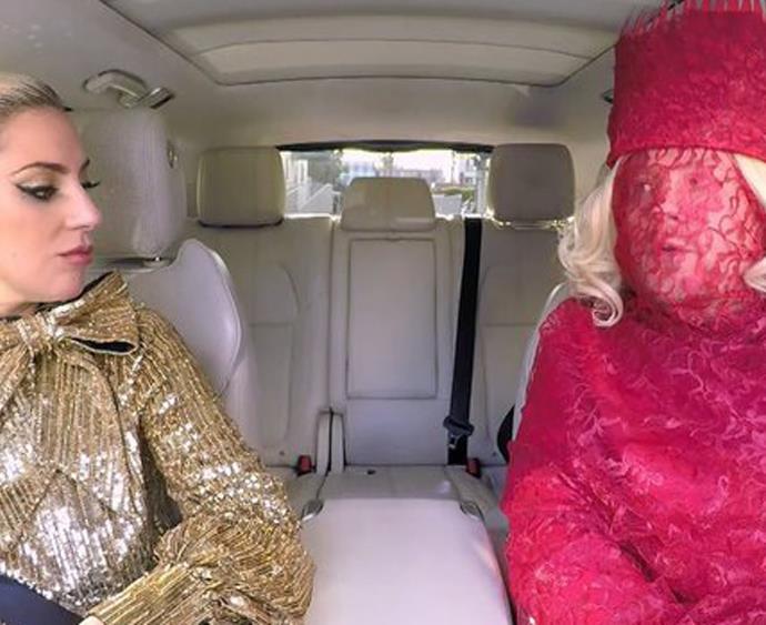 lady gaga and james corden carpool karaoke