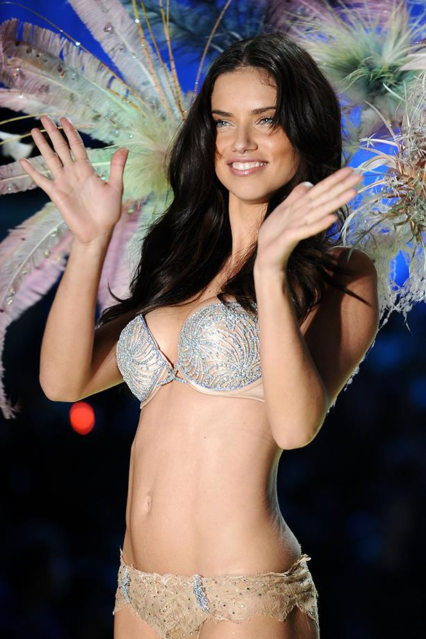 <p> <strong>The Year:</strong> 2010.<p> <P> <strong>The Bra:</strong> The second most least expensive bra, the 2010 'Bombshell Fantasy Bra' was worth $2.6 million and was covered in diamonds, blue sapphires and topazes.<p> <p> <strong>The Wearer:</strong> Adriana Lima.<p>