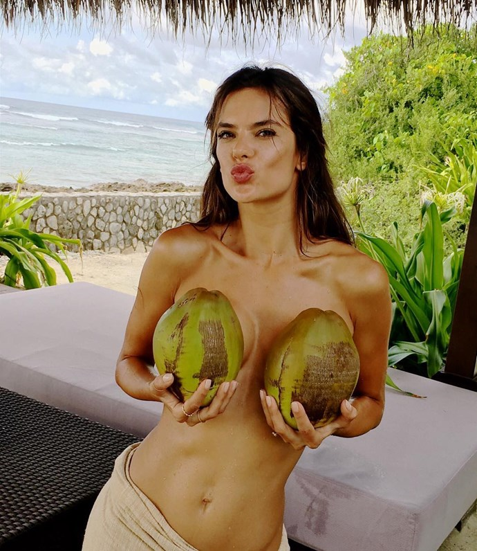 <p> <strong>Alessandra Ambrosio, 35.</strong><p> <P> <strong>Status:</strong> Angel.<p>