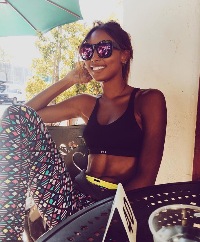 <p> <strong>Jasmine Tookes, 24. </strong><p> <P> <strong>Status:</strong> Angel, Fantasy Bra-wearer.<p>