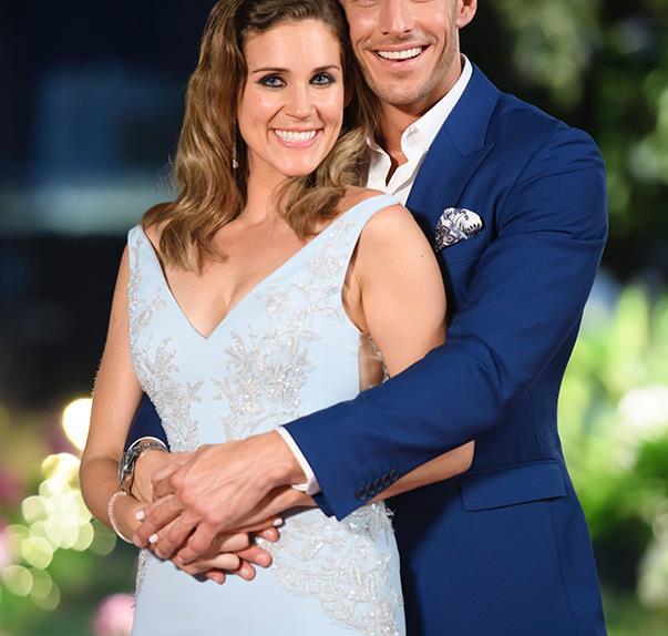 Georgia Love and Lee Elliott on The Bachelorette Australia 2016 Finale Result