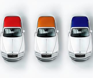 Rolls-Royce Dawn—Inspired By Fashion Special Edition.