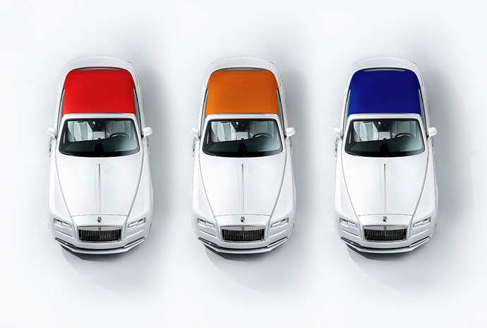 Rolls-Royce Dawn—Inspired By Fashion Special Edition.