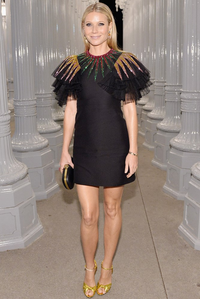 Gwyneth Paltrow at the LACMA Art + Film Gala, presented by Gucci.