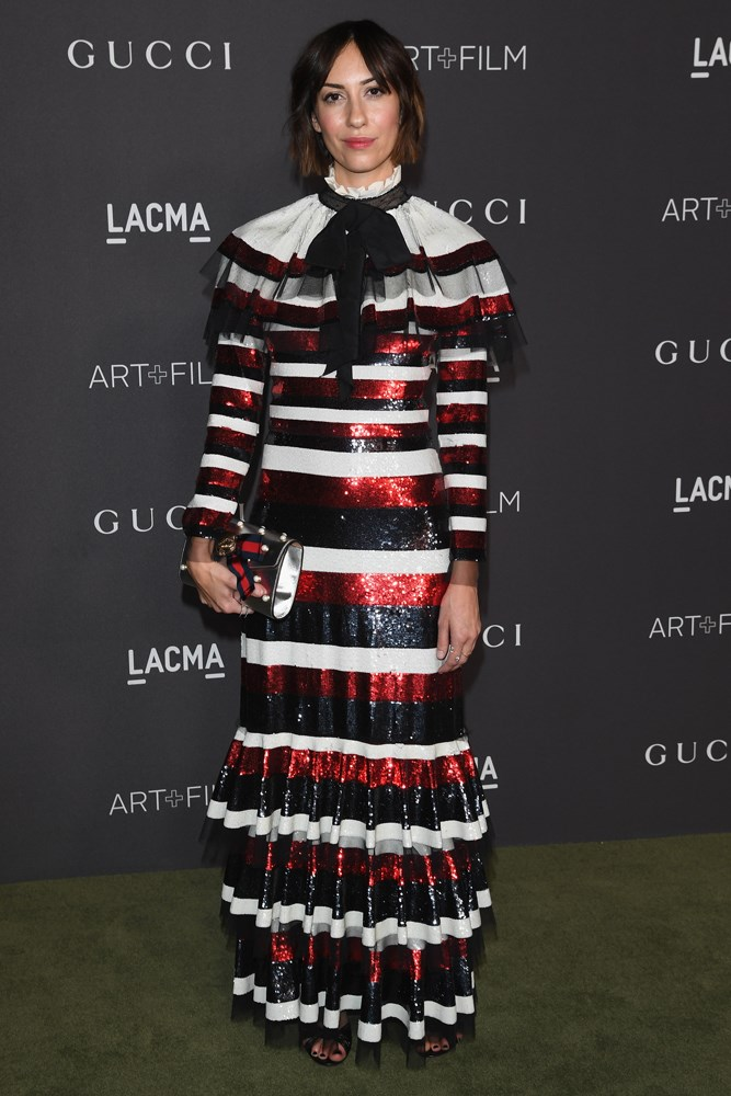 Gia Coppola at the LACMA Art + Film Gala, presented by Gucci.