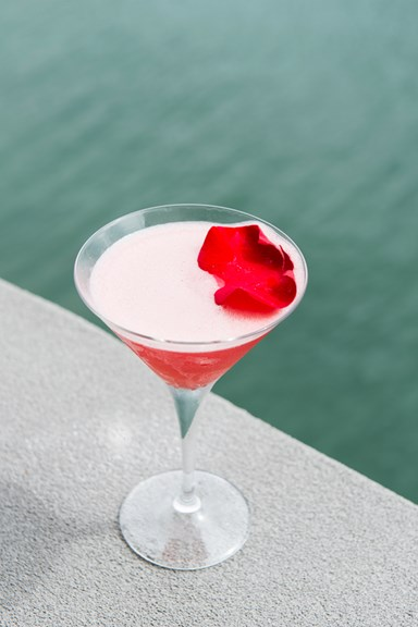 ELLE Tipple: Rose And Watermelon Martini