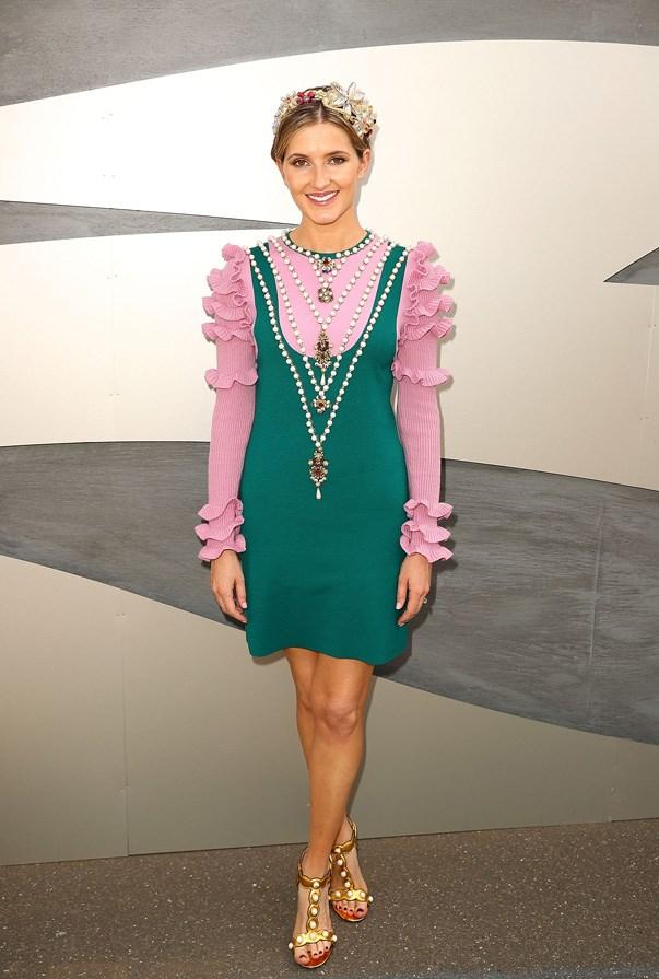 <p>Kate Waterhouse in Gucci.