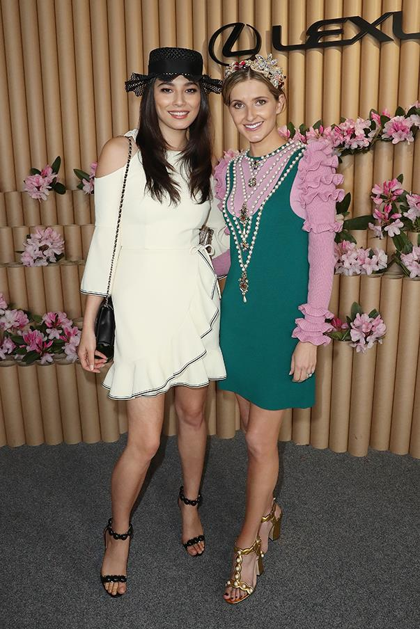 <p>Jessica Gomes and Kate Waterhouse.