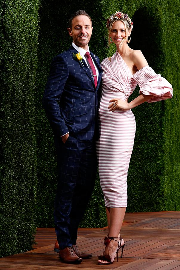 <p>Donny Galella and Nikki Phillips (in Asilio).