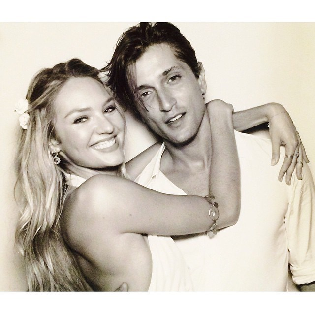 Hermann Nicoli, fiancé of Candice Swanepoel <br><Br> Model Hermann Nicoli met blonde bombshell Swanepoel in Paris when she was just 17. The good looking pair are now engaged and have just given birth to a baby boy, named Anacã.