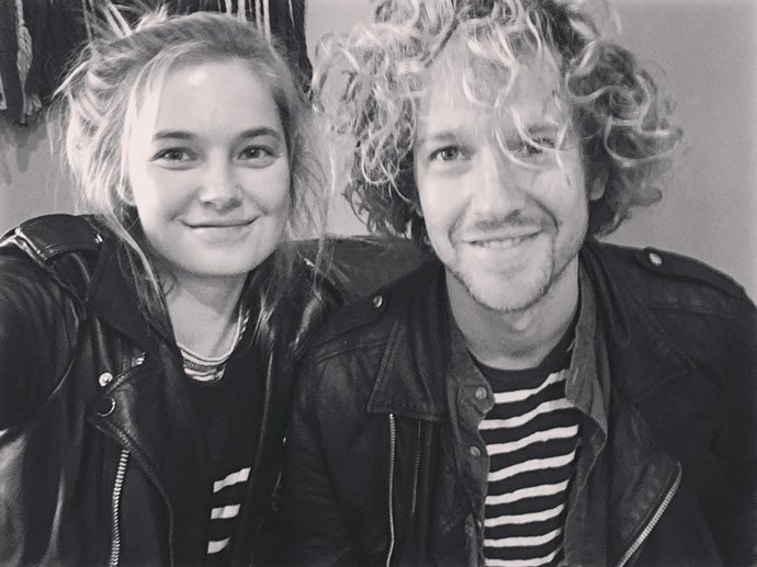 Nathaniel Hoho, husband of Bridget Malcolm <br><br> Lead singer and guitarist of New York rock band Walking Shapes, Hoho married Australian beauty Bridget Malcolm earlier this year.