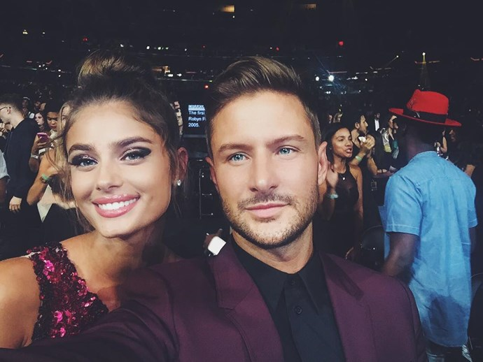 Michael Stephen Shank, boyfriend of Taylor Hill <br><br> Unafraid of showing their affection on social media, talent agent and actor Michael Stephen Shank has been with his stunning model girlfriend since last year.