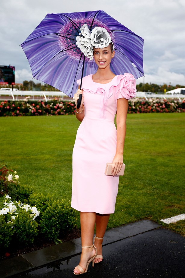 A 2015 Myer Fashions on the Field entrant