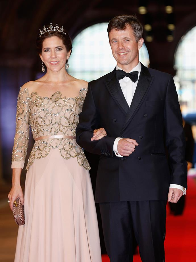 <p><strong>Crown Prince Frederik and Crown Princess Mary of Denmark</strong> <p>Hobart-raised Mary Donaldson was working at an advertising agency in Sydney when she met Prince Frederik at the Slip Inn on Sussex Street in 2000—he was here for the Olympic Games. They conducted a long-distance relationship, with Prince Frederik making a few sneaky trips to Sydney, and came out publically as a couple when a Danish weekly magazine called Mary Frederik's girlfriend in November 2001. Mary made the big move to Denmark in December that year. They got married on May 14, 2004, and have four children: Prince Christian, Princess Isabella, and twins Prince Vincent and Princess Josephine.