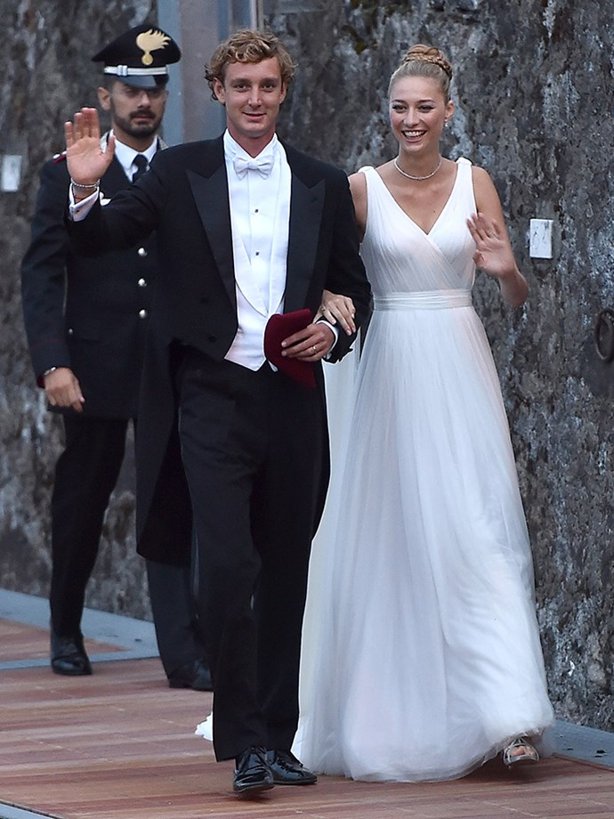 <p><strong>Pierre Casiraghi and Beatrice Borromeo</strong> <p>Pierre, the younger son of Princess Caroline of Monaco, married Italian heiress Beatrice Borromeo in two lavish weddings in July 2015. The couple, who both attended Bocconi University in Milan, started dating in May 2008.