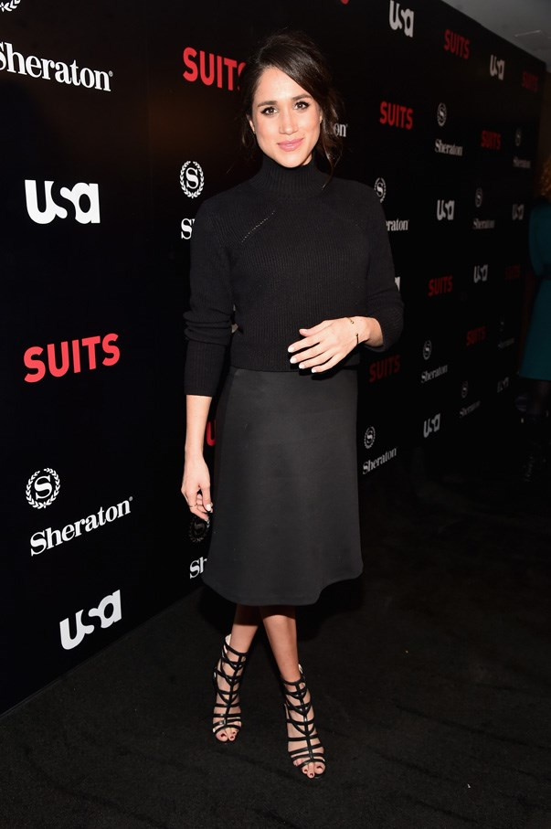 At the *Suits* season 5 premiere in Los Angeles, January 2016.