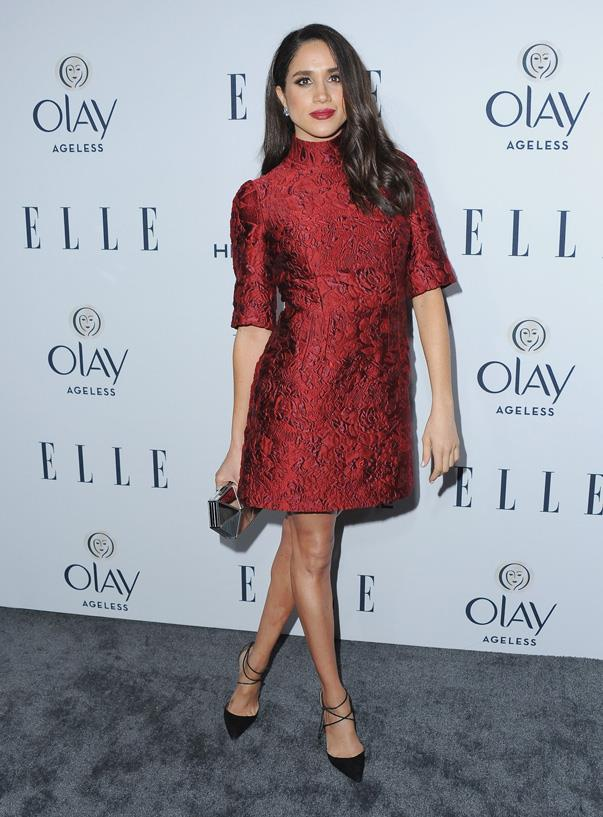 At *ELLE*'s 6th Annual 'Women in Television' dinner in West Hollywood, January 2016.